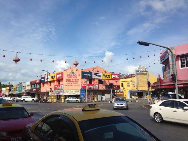Main street, Kuah