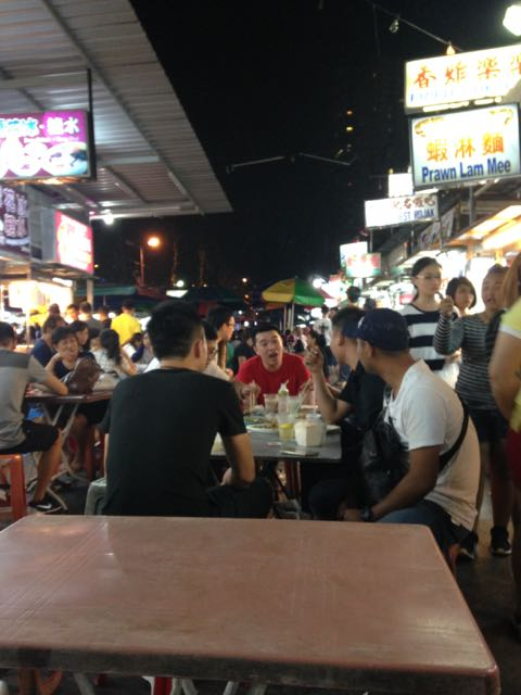 The delightful hawker food court