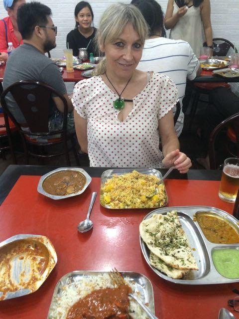 An Indian feast!