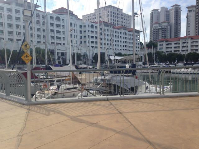 Yachts in Straits Quay Marina
