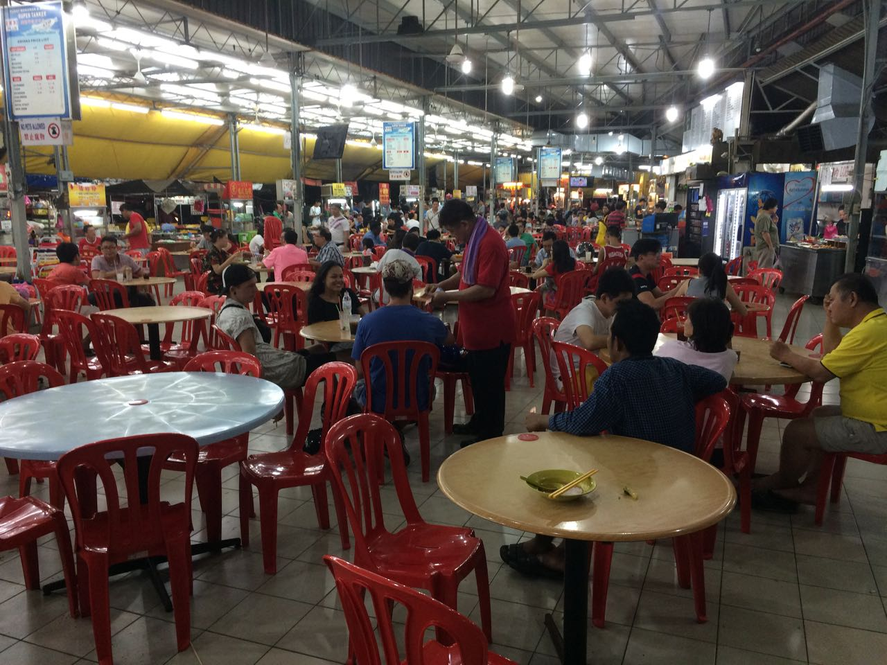 Busy, chaotic, delicious food at Supertanker