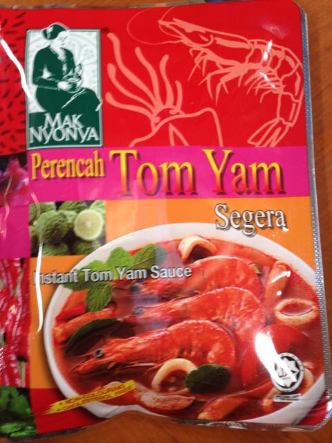 Spicy and delicious TomYam sauce