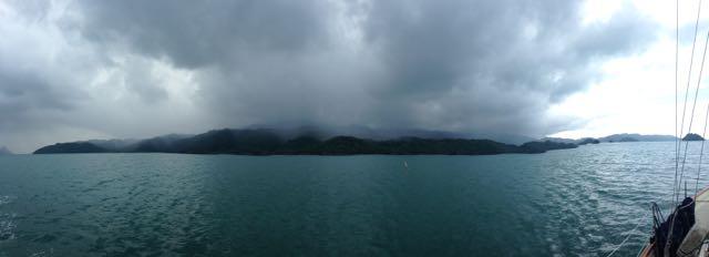 A squall over Taratou