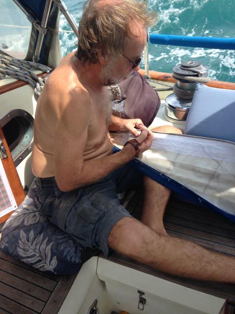 Sail repair